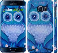 "Чехол на Samsung Galaxy S6 G920 Сова 4 ""2820c-80"""