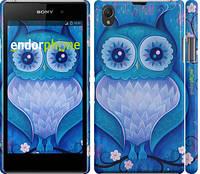 """Чехол на Sony Xperia Z1 C6902 Сова 4 """"2820c-38"""""""