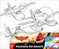 Раскраска по номерам на холсте, Дисней Самолетики, Ranok Creative (204224)