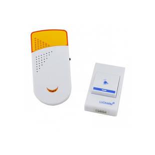 Беспроводной дверной звонок от розетки 220V Luckarm Intelligent A8603 Желтый