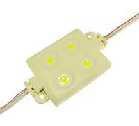 Світлодіодний модуль MNL-4W5050,кластерний модуль smd 5050 4led 0.96 Вт для реклами