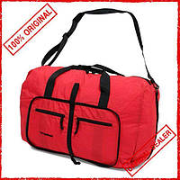 Сумка дорожная Members Holdall Ultra Lightweight Foldaway Small Red 39л 922791