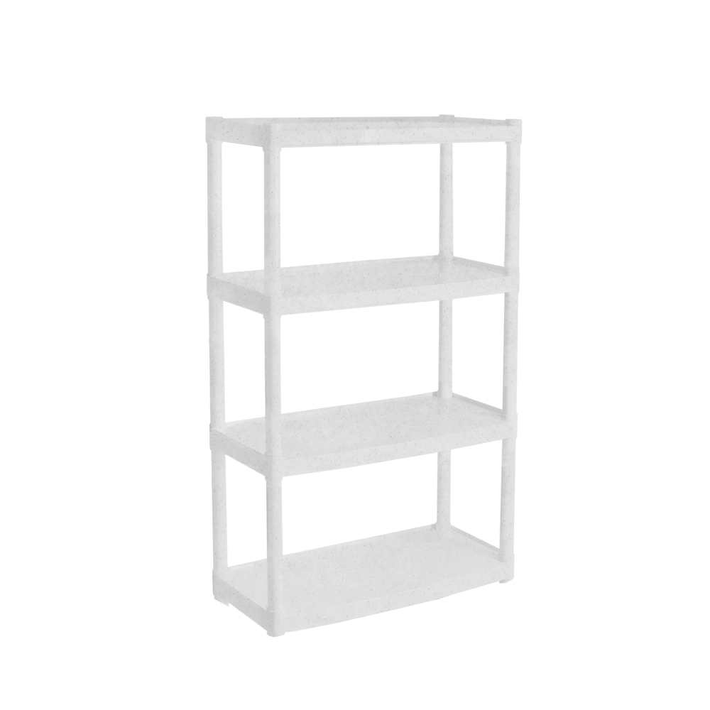 Стеллаж универсальный 4-х секционный Белый (18-122050-1)
