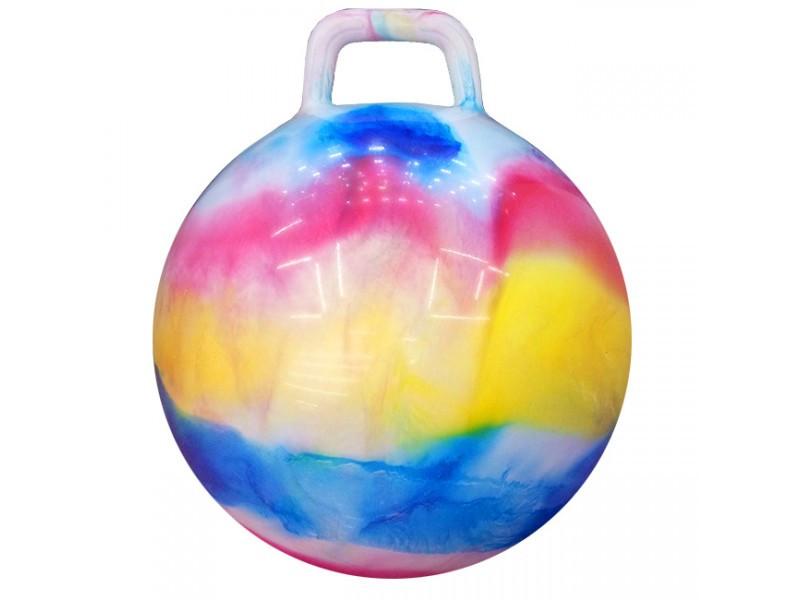 Мяч-прыгун детский Гиря 57 см Разноцветный (37-SAN002)