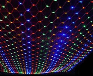 Гирлянда сетка 300 LED Разноцветный (hub_pLYv33661)