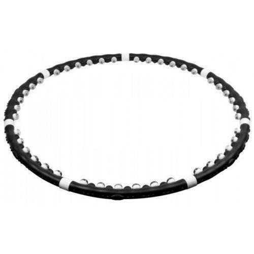 Массажный обруч ХулаХуп Massaging Hoop Exerciser Черный (36-130256)