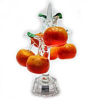 """Дерево """"апельсин"""" хрусталь (6 плодов)"""