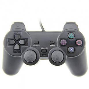 Беспроводной геймпад джойстик PS2 Серый (31-SAN130)