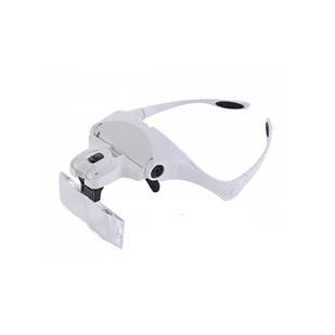 Бинокулярные очки со светодиодной подсветкой 9892BP (46300)