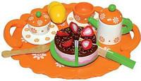 Чайный сервиз с тортиком на День Рожденье. Bino (83414)