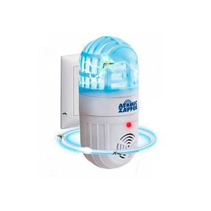 Лампа приманка для насекомых и отпугиватель грызунов Atomic Zabber (46615)