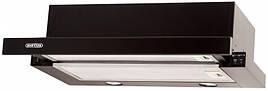 Кухонная вытяжка Eleyus Шторм G LED 960 / 60 (белая, бежевая, черная) Черный