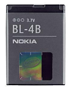 Аккумулятор Nokia BL-4B на Nokia 5000, N76, 2630, 2760, 6111, 7370, 7373, 7500 Prism, 7070, ОРИГИНАЛ