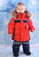 Костюм для мальчика зимний Комбинезон КІКО  ZZ4608 098р-128р