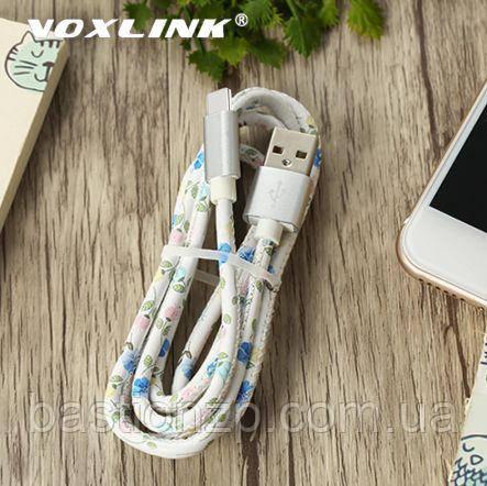 VOXLINK 5V2A type C usb-кабель для быстрой зарядки мобильных телефонов длина 0,5м