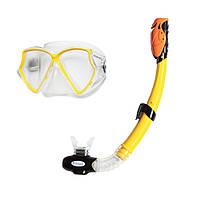 Набор маска и трубка для подводного плавания Aviator Intex: от 3 лет