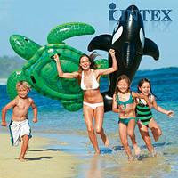 Надувная детская игрушка с держателями для рук Черепаха Intex Интекс