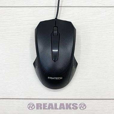 Мышка оптическая проводная USB FANTECH T-530 (Black), фото 2