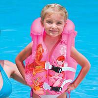Детский надувной двухкамерный жилет винкс Winx от 3 до 6 лет, 51х46см