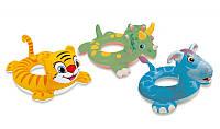 Надувной круг для плавания Веселые животные Intex: 3 вида