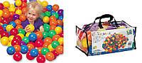 Детские шарики для бассейна (мячики) 100шт для сухого бассейна интекс Intex: диаметр 6,5см (Intex 49602)