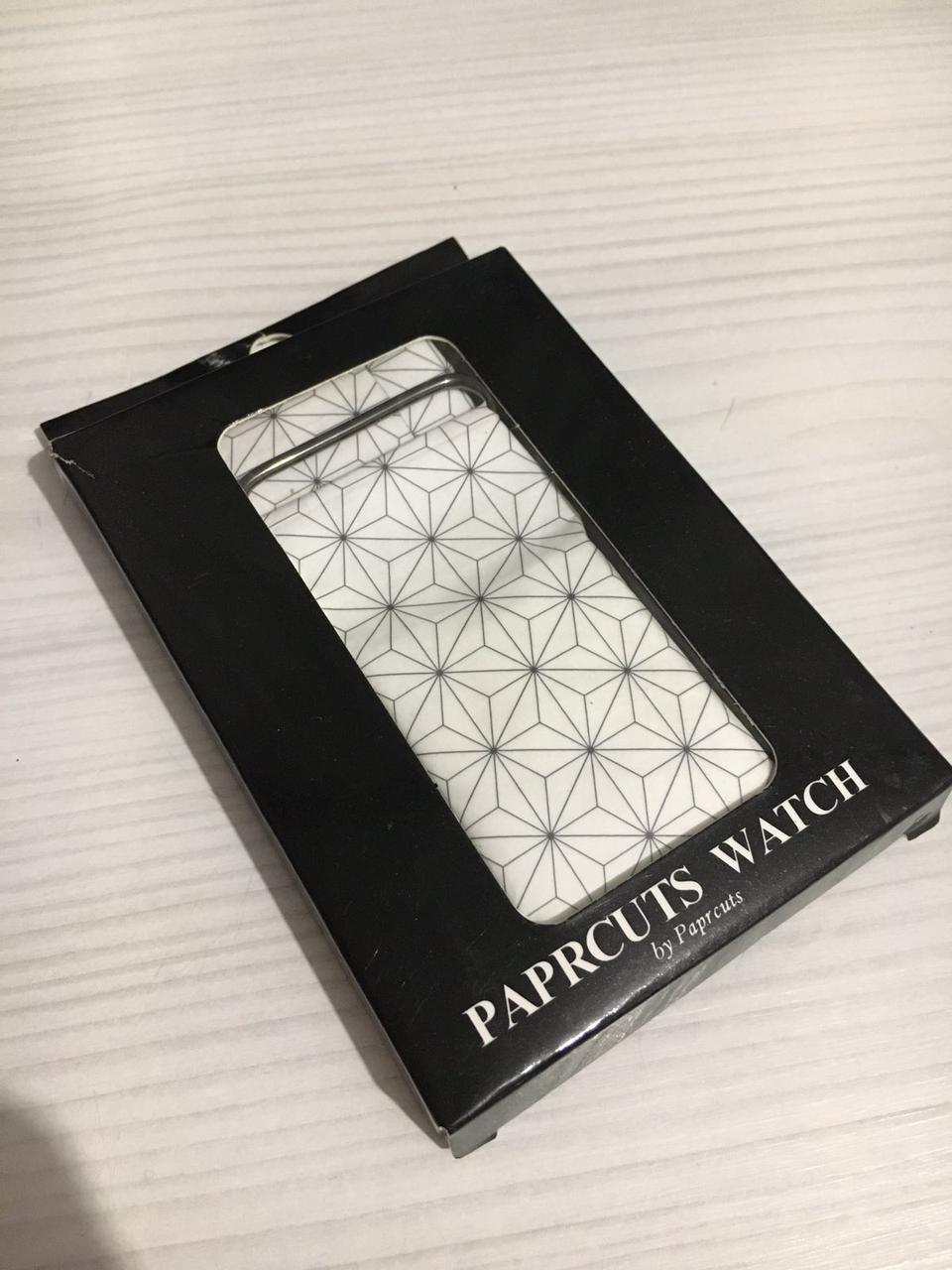 Часы Бумажные  Paper Watch (Водонепроницаемые) Tyvek Paper, прочная спец бумага