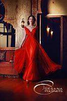 Платье красное вечернее, фото 1
