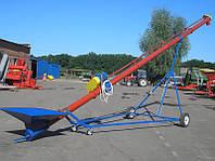 Шнековый транспортер на колесах, передвижной шнековый конвейер