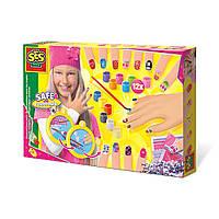 Игровой набор для юного нейларт мастера Модница (декор для ногтей) SES Creative 014975S