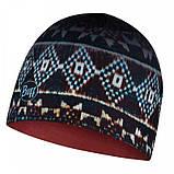 Шапка BUFF Microfiber Reversible Hat butú dark navy, фото 2