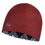 Шапка BUFF Microfiber Reversible Hat butú dark navy, фото 3