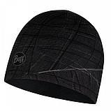 Шапка BUFF Microfiber Reversible Hat embers black, фото 2