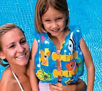 Детский надувной жилет Рыбки Intex/Интекс: от 3 лет