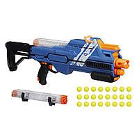 Оригинальный детский бластер Нерф Райвал Гипноз (синий) Nerf Rival Hypnos XIX-1200 (Blue) E2901