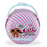 Оригинальный игровой набор с куклой ЛОЛ Сюрприз! серии Ooh La La Baby L.O.L Surprise Lil D.J. Мини-дива 562481