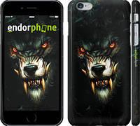 """Чехол на iPhone 6 Plus Дьявольский волк """"833c-48"""""""
