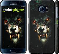 """Чехол на Samsung Galaxy S6 G920 Дьявольский волк """"833c-80"""""""