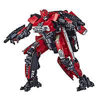Оригинальный детский трансформер Красная Молния Хасбро Transformers Shatter Red Lightning Action Figure E3831