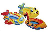 Детские надувные лодочки Интекс 59380 в ассортименте, выдерживают нагрузку до 25кг