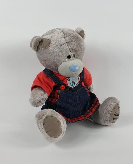Плюшевая игрушка Мишка Тедди девочка в сарафане 22 см