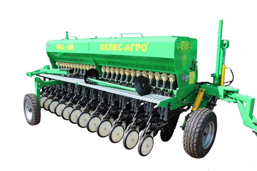 Сеялка зерновая механическая Ника-4 серии СЗМ-4 прицепная (с МС-4 и ТР-4)