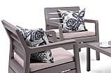 Комплект садових меблів Allibert Delano Set, фото 9