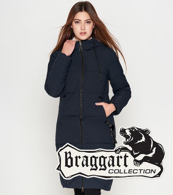Braggart Youth | Куртка зимняя женская 25495 темно-синяя