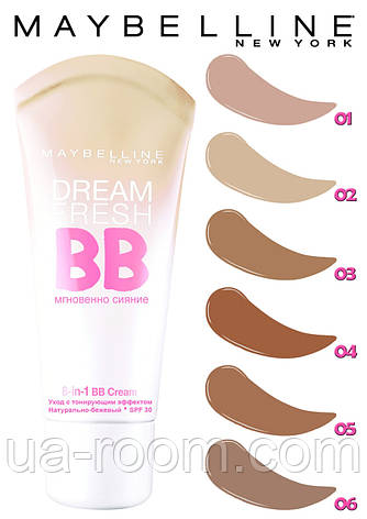 Тональный крем Maybelline Dream Fresh BB SPF-30, фото 2