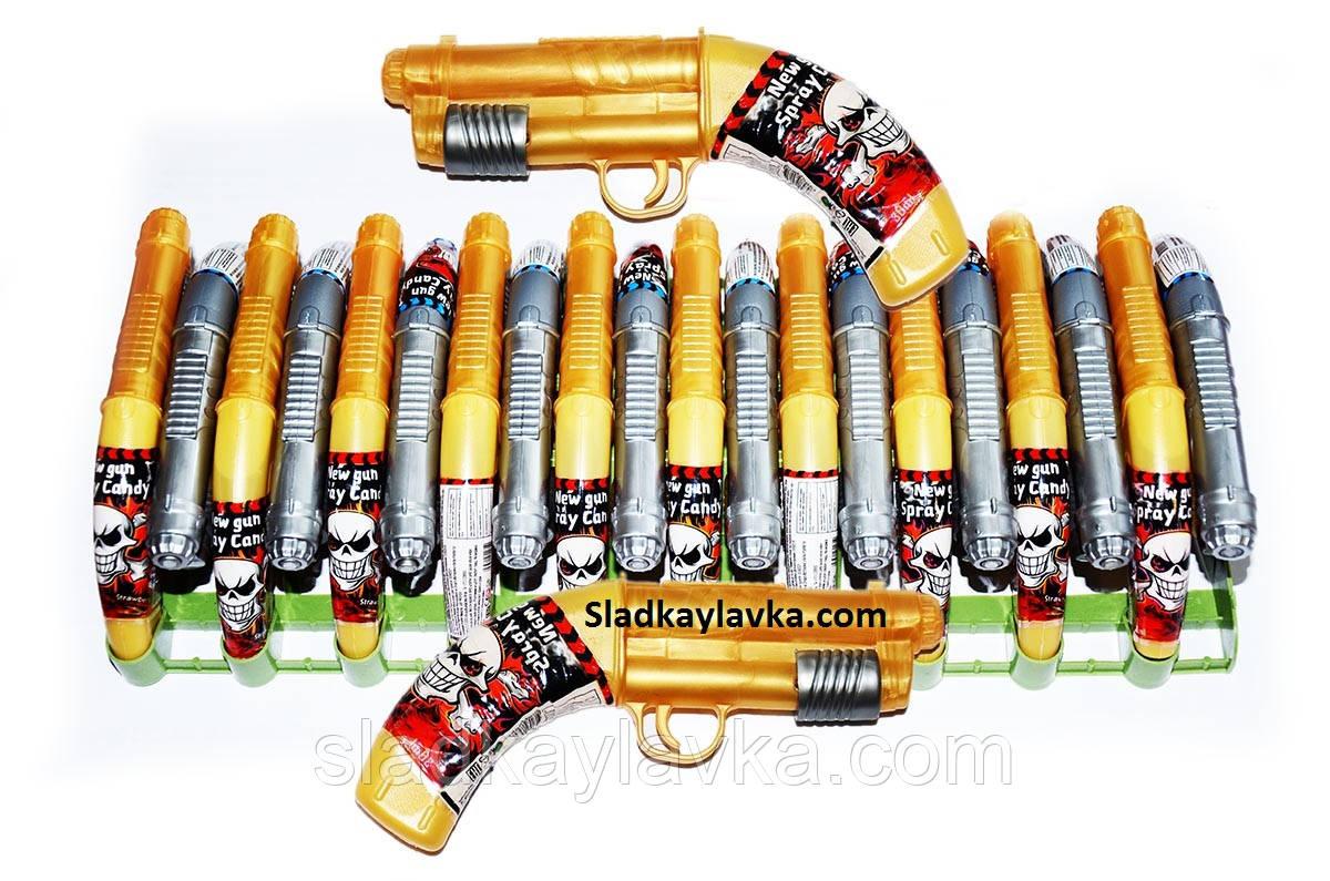 Карамель Спрей Пистолет 20 шт (Китай)