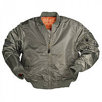"Куртка лётная МА-1 ""Бомбер"" Mil-Tec (Германия) Olive"