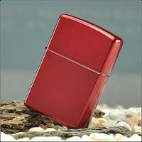 Зажигалка Zippo 21063 Candy Apple Red (Ярко-красная карамель)