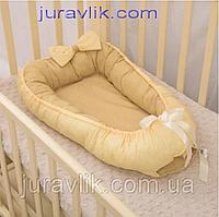Кокон для младенца, гнездышко позиционер Совенятко стандарт