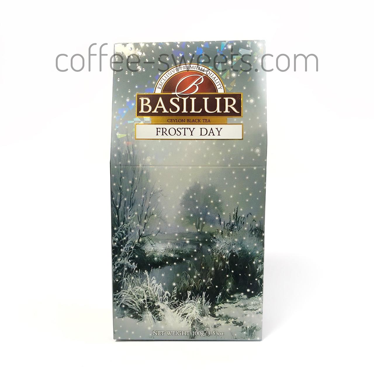 Чай черный Basilur Подарочная коллекция Frosty day (Морозный день) 100гр