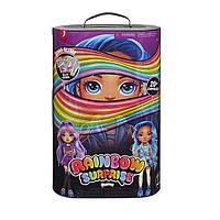 Набор с куклой пупси слайм Фиолетовая или Голубая Леди Poopsie Rainbow Surprise Amethyst Rae or Blue Skye